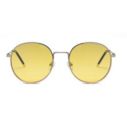 $enCountryForm.capitalKeyWord Australia - Round Fashion Retro Men's And Women's Double Hinge Sunglasses Outdoor Sun High-quality Protection Uv400 Unisex Sunglasses