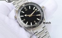 Discount luxury watches james bond Free Shipping Automatic Black Professional Planet Ocean James Bond Wristwatch 232.30.42.21.01.001 Mens Men's Watch