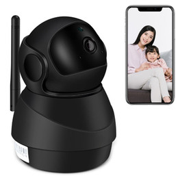 network security alarms UK - Home Security System Network Cameras Wireless Baby Surveillance Camera Wifi Monitoring Indoor Wifi Remote 1080P HD APP Alarm Message