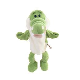 Crocodiles Alligator Toys UK - Doll Plush Alligator Kids Toy Birthday Gift Animal Crocodile PP Cotton Holiday