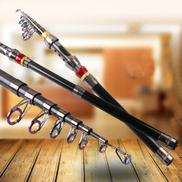 telescopic fishing rod 3.6m Australia - Rompin Carbon Portable Telescopic Fishing Rod Spinning Sea Rod Superhard Ocean Rod Rock Fishing Tackle1.8 2.1 2.4 2.7 3.0 3.6M