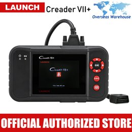 launch car diagnostic scanner Australia - LAUNCH Creader VII + OBD2 Scanner Car Diagnostic Tool Automotive Engine ABS SRS Auto Diagnostics Scan Tools Autoscanner CRP123