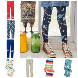 $enCountryForm.capitalKeyWord NZ - Baby Girls Leggings 100% Cotton Designer Tights Printed Kids Pants Infant Trousers Baby Clothing 9 Designs Butterfly Unicorn Rainbow YW1933