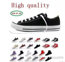 $enCountryForm.capitalKeyWord Australia - 2019 New star big Size 35-46 Casual Shoes Low top Style sports stars chuck Classic Canvas Shoe Sneakers Men's Women's Canvas Shoes