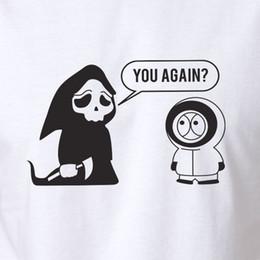 $enCountryForm.capitalKeyWord Australia - Funny Kenny T-shirt Singlet, Men's + Women's - South Reaper Park Clothing Short Sleeve Plus Size t-shirt colour jersey Print t shirt