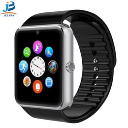 $enCountryForm.capitalKeyWord Australia - GT08 Smart Watch Bluetooth Smartwatches For Android Smartphones SIM Card Slot NFC Health Watchs for Android ios wholesale