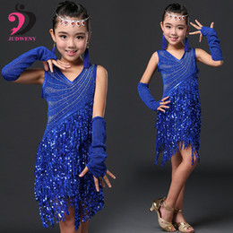 Wholesale ballroom dresses for tango for sale - Group buy Children Professional Latin Dance Dress for Girls Ballroom Dance Competition Dresses Modern Waltz Tango Latin Dress Women