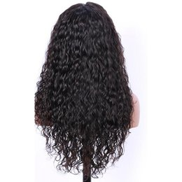 Human Hair For Making Wigs UK - Top Quality Brazilian Human Hair Wigs For Black Women Hand-made Kinky Curly Lace Front Wigs With Baby Hair Full lace Wig No tangle
