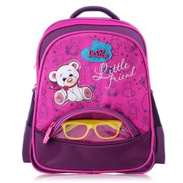 Bear Books Australia - Delune Famous Brand Da Series 5-8 Years Old Girls Boys Fashion New School Bags For Kids Cartoon Bear Book Schoolbag Backpack