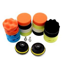 car styling kits 2019 - 7Pcs Drill Buffing Sponge Pads Car Foam Polishing Pads Kit for Car Buffer Polisher Sanding Waxing Sealing Glaze Styling