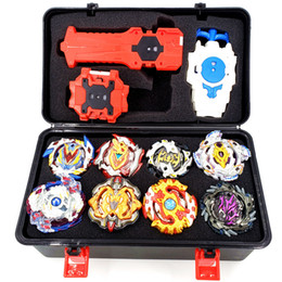 beyblade arena toy UK - suit Launchers Beyblade B-106 B-97 B-110 B-115 Burst Toys Arena Metal God Fafnir Spinning Top Bey Blade Blades Toy T191109