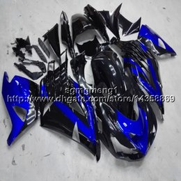 Blue Fairing Zx14r Australia - 23colors+Gifts Injection mold blue black motorcycle Fairing For Kawasaki ZX14R 2006 2007 2008 2009 2010 2011 2012 2013 2014 2015 2016
