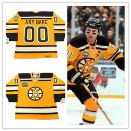 bruins winter jersey 2020 - Custon BOSTON BRUINS 2010 CCM Vintage Winter Classic Customized ice men's retro Hockey stitched Jersey #4 BOBBY ORR