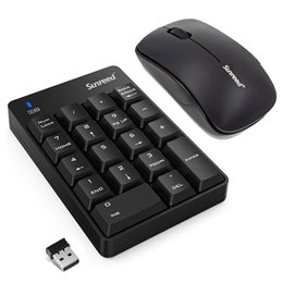 wireless numeric keyboard Australia - New 18 Keys 2.4 G Mini Wireless Keyboard Mouse USB Numeric Gaming Keyboard And Mouse Set Support Windows XP Vista 7 8 10