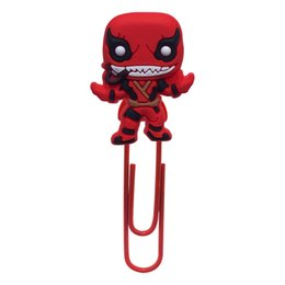 $enCountryForm.capitalKeyWord UK - Venom Bookmark School Stationery Supply Creative PVC Souvenir Books Paperclips Book Decorations Free Shipping