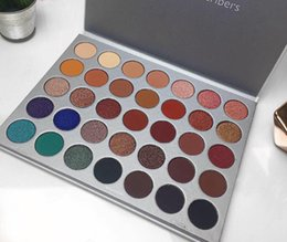 Pro makeuP Palettes online shopping - 35 Colors M Brand Pro Eye Shadow Palette Matte Shimmer Makeup Eyeshadow Palettes Cosmetics Palette Eye Shadow DHL Shipping