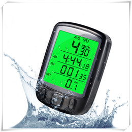 Discount bicycle stopwatches - Wired Waterproof Bicycle Wired Stopwatch Multifunction Backlight Night Ride Computer Odometer Cycling Computer LCD Odome