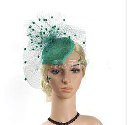 $enCountryForm.capitalKeyWord NZ - New Furry Elastic Mesh Headwear T-stage Show European and American Headwear Hemp Yarn Bottom Accessories Hair Ornaments