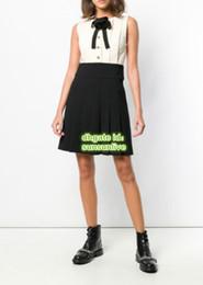 $enCountryForm.capitalKeyWord NZ - Women A-Line Vintage Camellia Shirt Dress Panelled Crew Neck Dress The High Custom Brand A-Line Runway Knee-Length Brief Skirt Pattern Dress