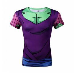2a0e859bf958 New Dragon Ball Z t-shirt Goku Vegeta Bodybuilding T Shirt Super Saiyan  Shirt Summer Clothes Homme Dragonball Tee