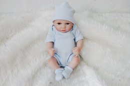 full body lifelike doll Australia - Toy Full body silicone water proof bath toy popular hot selling reborn toddler baby dolls bebe doll reborn lifelike soft touch 10 inches