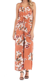 $enCountryForm.capitalKeyWord Australia - 2019 spring hot sale jumpsuits for women, dressy jumpsuits, seaside rompers for girls, holiday chiffon clothing