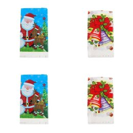table cloths disposable NZ - Cartoon Characters Style Table Covers Disposable Santa Claus Pattern Tables Cloth Birthday Party Decoration Pearlescent Film Tablecloths