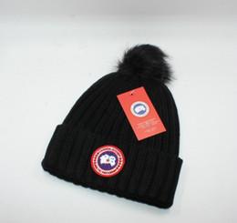 Top Venda CANADA marca BEANIE homens chapéu de malha clássico sports skull caps mulheres casuais gorros GOOSE ao ar livre em Promoção