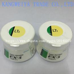 Wholesale Dental denture lab laboratory material Noritake EX-3 porcelain powder ex3 luster LT0 LT1 genuine original ceramics 50g
