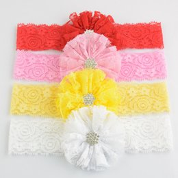 baby flower head pieces UK - Baby Girls Headbands Mix flower babies Headbands Infant Toddler Hair Band Accessories Head Piece Hair Accessories Headwear
