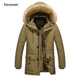 Fur Hats Men Australia - New Fashion Winter Jacket Men Warm Coat Casual Parka Medium-Long Thickening Coat Wool Liner Fur Hat Detachable Parkas Men M-5XL