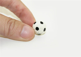 basketball toys for boys UK - 1 12 Dollhouse Miniature Accessories Mini Resin Football Basketball Simulation Model Toys for Doll House Decoration