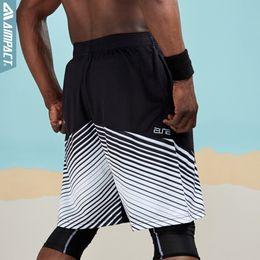 $enCountryForm.capitalKeyWord Australia - Aimpact Sporty Shorts For Men Fast Dry Running Basketball Training Gym Workout Trunks Male Men Casual Hybird Biker Shorts Am2026 SH19062701