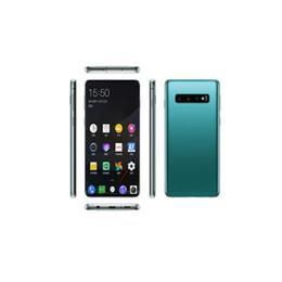 Wholesale Card Shows UK - Goophone 10Plus 10 plus 10+ 6.3inch 1GB RAM 8GB ROM 3G WCDMA Show 4G LTE Mobilephone WIFI Bluetooth Dual Sim Unlocked Cellphone