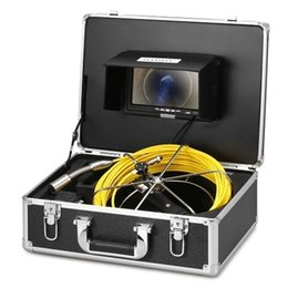 Video pipes online shopping - WP71AL Drain Pipe Sewer Inspection Video Camera with m cable