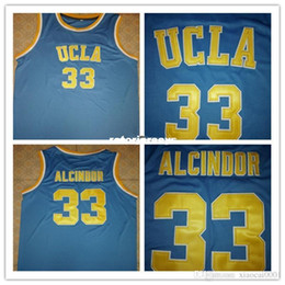 $enCountryForm.capitalKeyWord Australia - Cheap #33 Lew Alcindor UCLA Bruins basketball Jerseys Retro vest T-shirt Mens embroidery jerseys Customize any size number player name