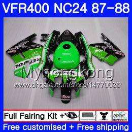 $enCountryForm.capitalKeyWord NZ - Body For HONDA RVF400R VFR400RR RVF400RR VFR400R 1987 1988 267HM.48 VFR400 R Repsol green NC24 V4 RVF VFR 400 R VFR 400R 87 88 Fairing kit