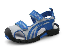 $enCountryForm.capitalKeyWord UK - Boys Baotou Sandals New Outdoor Slip-proof Soft-soled Shoe for Leisure Children in Summer 2019 WL313