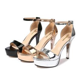 $enCountryForm.capitalKeyWord Canada - Fashion Summer Women's Dress Shoes High Heels Female Party Sandals Female Pumps Open Toe Pumps With Platform
