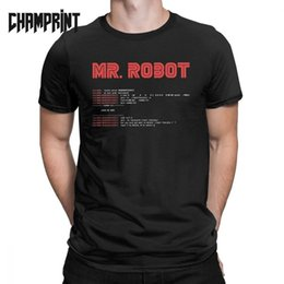 $enCountryForm.capitalKeyWord Australia - Cool Mr Robot Programming Programmer Developer Code T-Shirts for Men Crew Neck Cotton T Shirt Short Sleeve Tees Big Size Clothes