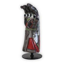 Latex Toys UK - [New] Marvel Avengers 4 Final battle Iron Man gem Gloves model Action Figure Toy latex decoration collection model best gift