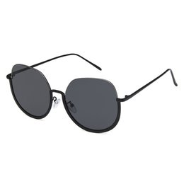 Cheap Ladies Designer Sunglasses NZ - 2019 New Semi-Rimless Sunglasses for Women Mens Fashion Ladies Eyewear UV Protection Half Frame Glasses Brands Designer Cheap Wholesale