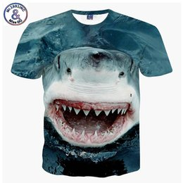 $enCountryForm.capitalKeyWord Australia - J190529Mr.1991 Brand New Design Big White Shark 3d Printed T-shirt For Boys Or Girls Big Kids T Shirts Teens Tops Tee A59 J190529