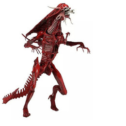 "Aliens Action Figures Australia - [ New ] Original NECA Big 50cm 15"" Aliens Alien Queen Deluxe Boxed PVC Action Figure Limited Edition Collection Model Toy gift"
