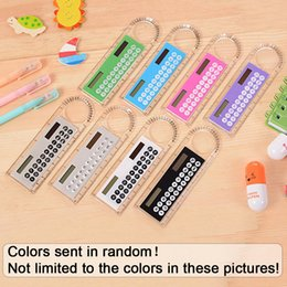 Kid ruler stationery online shopping - 10cm Ruler Digital Calculator Kid Stationery Gifts School Office Calculating Tool Multifunction Simplified Calculators
