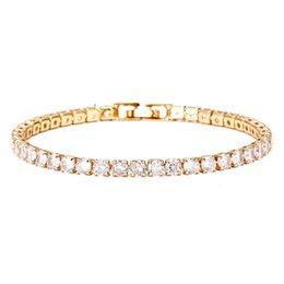 $enCountryForm.capitalKeyWord Australia - Classic Style Bracelet Full Diamond Transparent Zircon Jewelry Lady Birthday Gift Small Fresh Woman Hand Ornaments New