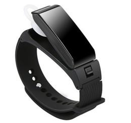$enCountryForm.capitalKeyWord UK - Dual Mode 2 in 1 Talkband K2 Bluetooth phone Smart Bracelet Wristband Stereo Headphone Headset Fitness Tracker Passometer Smartwatch Band