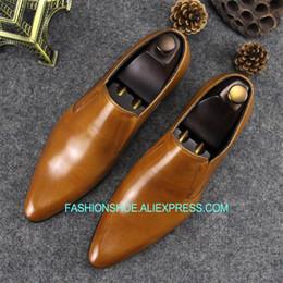 $enCountryForm.capitalKeyWord Australia - Fashion British Style Men Formal Dress Shoes Flat heel Real leather Male Oxfords Big Size euro 45