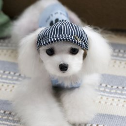 Fallen Hats Australia - Fun pie cheepet dog jewelry pet accessories pet beret pet hat dog hat Teddy hat universal