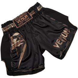 muay thai clothing NZ - Men's Boxing Pants Printing MMA Shorts kickboxing Fight Grappling Short Tiger Muay Thai boxing shorts clothing sanda cheap mma